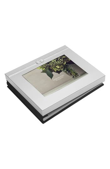 Vera Wang X Wedgwood Infinity Picture Frame Guest Book, Size 5x7 - Metallic