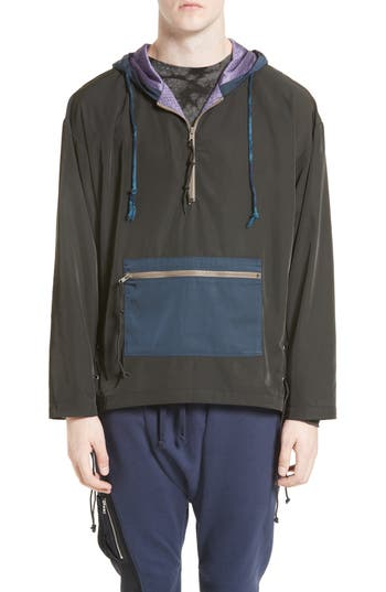 Men's Drifter Brooks Side Lace Hooded Jacket