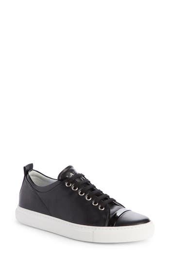 Women's Lanvin Low Top Cap Toe Sneaker