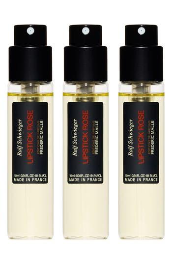 Editions De Parfums Frédéric Malle Lipstick Rose Travel Fragrance Spray Trio