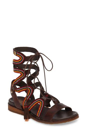 Women's Pikolinos Antillas Gladiator Sandal, Size 36 EU - Brown