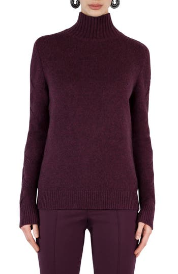 Women's Akris Punto Wool Blend Turtleneck Sweater