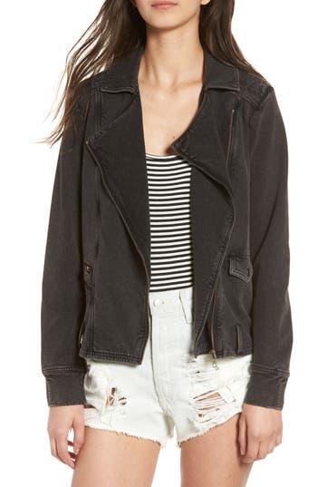 Women's Bp. Knit Moto Jacket