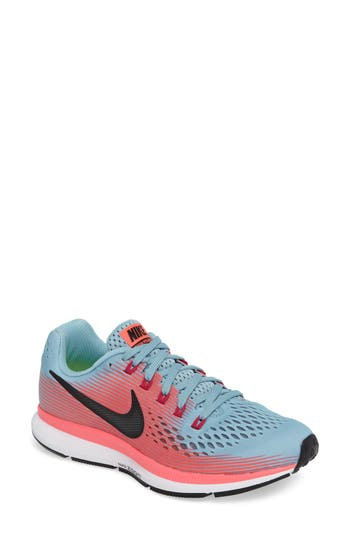 Women's Nike Air Zoom Pegasus 34 Running Shoe, Size 5.5 N - Blue