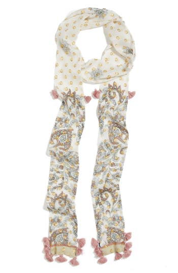 Women's Rebecca Minkoff Floral Paisley Skinny Scarf