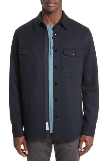 Men's Rag & Bone Raw Edge Shirt Jacket
