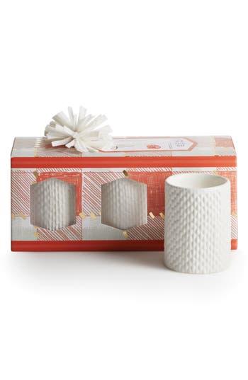 Illume Set Of 3 Votive Candles, Size One Size - Orange