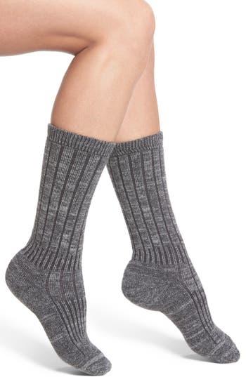 Women's Wigwam Hiker Wool Blend Crew Socks, Size Medium - Grey