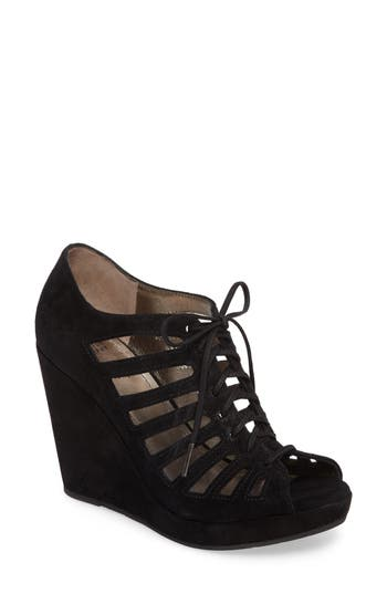 Women's Johnston & Murphy Maddie Caged Wedge Sandal