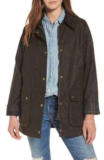 Barbour Acorn Field Jacket, US / 8 UK - Green