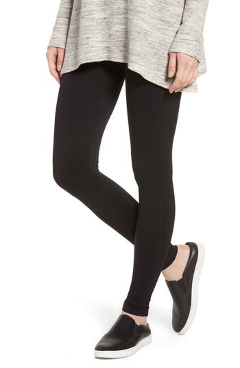 David Lerner Seamless Leggings, Black
