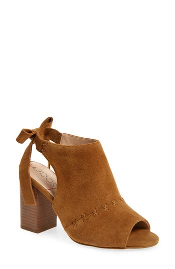 Sole Society Albany Slingback Sandal- Brown