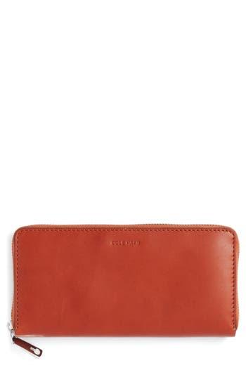 Cole Haan Continental Zip Wallet - Brown
