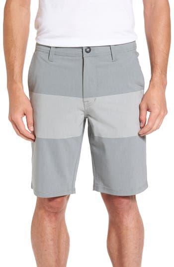 Volcom Stone Modern Hybrid Shorts, Grey