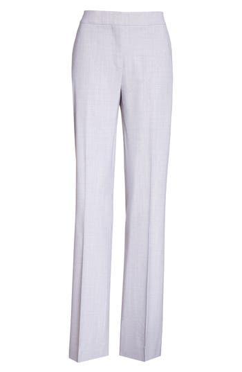 Women's Max Mara Alessia Stretch Wool Pants
