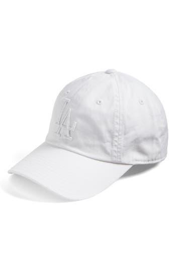 Women's American Needle Ballpark - Los Angeles Dodgers Baseball Cap - White