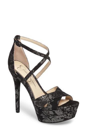 Jessica Simpson Roxelle Sandal- Metallic