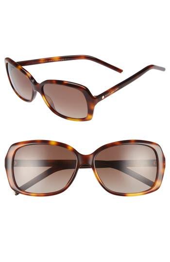 Women's Marc Jacobs Marc 57Mm Polarized Sunglasses - Havana/ Brown Gradient Polar