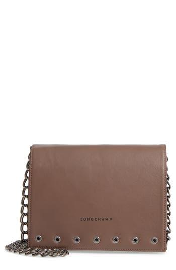 Longchamp Paris Rocks Crossbody Bag - Beige