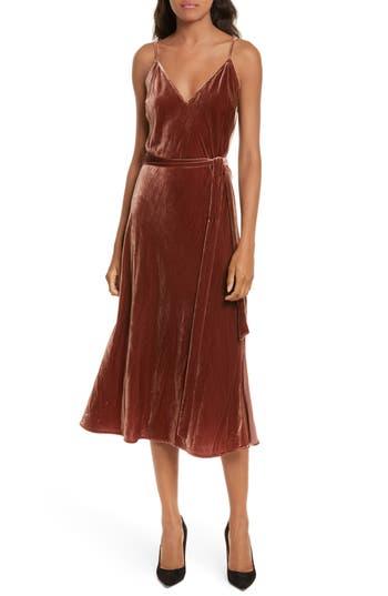 Women's Frame Velvet Slipdress