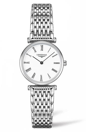 Women's Longines La Grande Classique De Longines Bracelet Watch, 24Mm