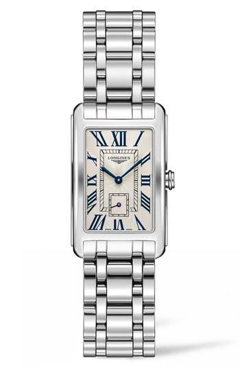 Women's Longines Dolcevita Bracelet Watch, 23Mm X 37Mm