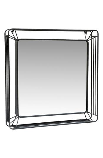 Foreside Forged Iron Mirror, Size One Size - Metallic