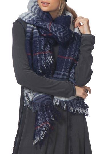 Women's Rip Curl London Blanket Scarf, Size One Size - Blue