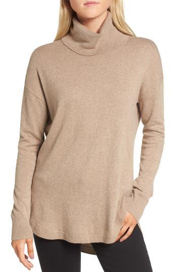 Women's Chelsea28 Turtleneck Sweater, Size Medium - Beige