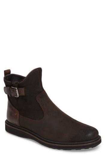 John Varvatos Star Usa Brooklyn Zip Boot, Brown