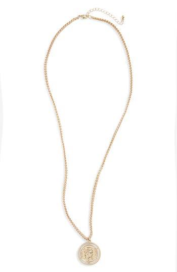 Women's Bp. Coin Pendant Necklace