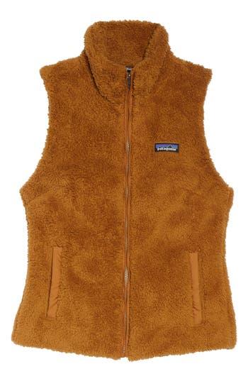 Women's Patagonia Los Gatos Fleece Vest, Size X-Large - Brown