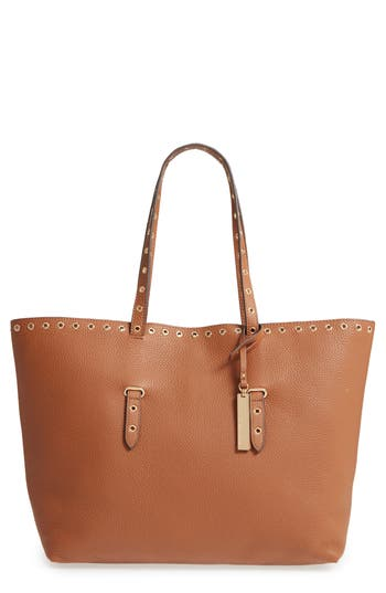 Vince Camuto Areli Leather Tote - Brown