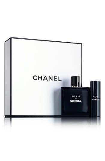 Chanel Bleu De Chanel Eau De Toilette Travel Spray Set