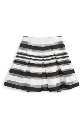 Girl's Milly Minis Illusion Stripe Skirt