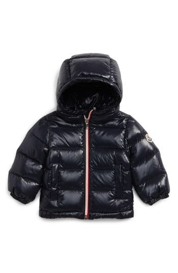 Infant Boy's Moncler New Aubert Hooded Water Resistant Down Jacket