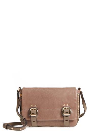 Vince Camuto Delos Leather Crossbody Bag - Grey