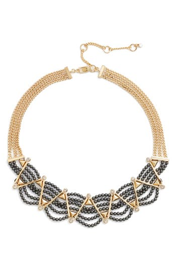 Women's Givenchy Imitation Pearl Frontal Necklace