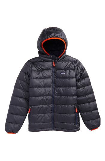 Boy's Patagonia Hooded Down Jacket