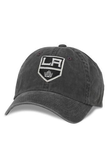 Men's American Needle New Raglan - Nhl Baseball Cap - Black