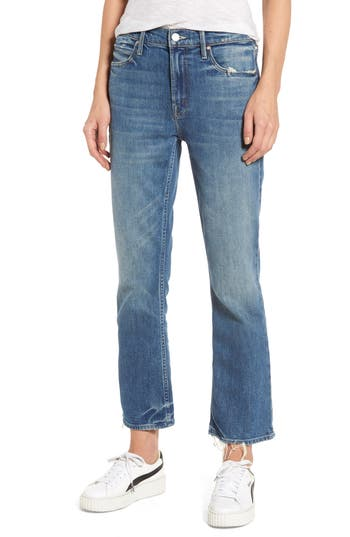 Women's Mother The Dutchie Crop Straight Leg Jeans