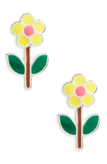 Girl's Tomas Flower Sterling Silver Stud Earrings