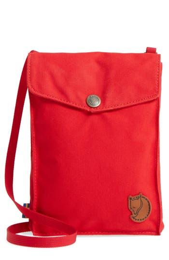 Fjällräven Pocket Crossbody Bag - Red