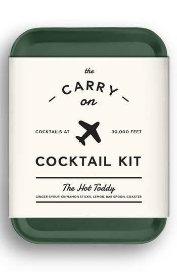 W & p Design Carry-On Cocktail Kit