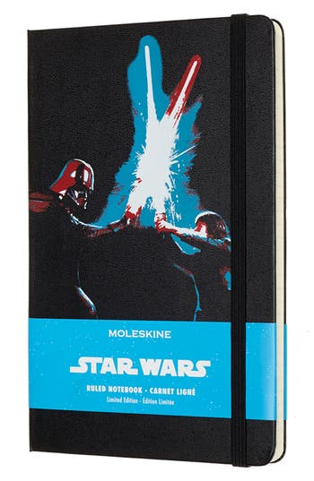 Moleskine Star Wars(TM) Limited Edition - Lightsaber Notebook, Size One Size - Black