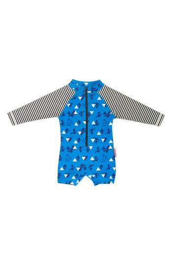 Infant Boy's Sookibaby Nordic One-Piece Rashguard Swimsuit