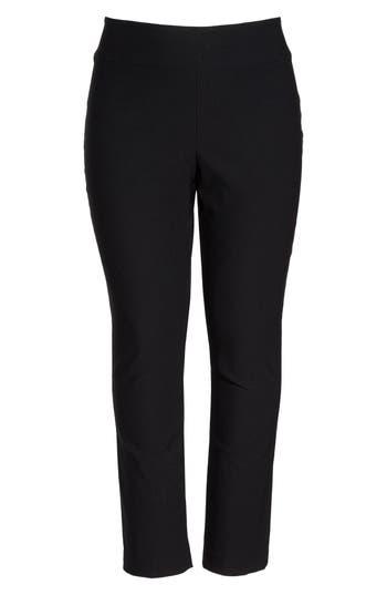 Plus Size Women's Nic+Zoe 'Wonder Stretch' Straight Leg Pants