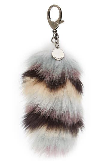 Rebecca Minkoff Genuine Fox Tail Fur Bag Charm -