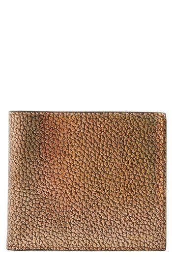 Paul Smith Metallic Leather Wallet - Metallic