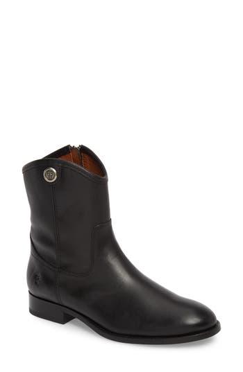 Frye Melissa Short 2 Boot- Black